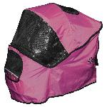 Weather Cover for Special Edition Pet Stroller - Raspberry