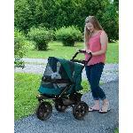 AT3 No-Zip Pet Stroller - Forest Green