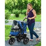 AT3 No-Zip Pet Stroller - Midnight River