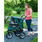 Jogger No-Zip Pet Stroller - Forest Green