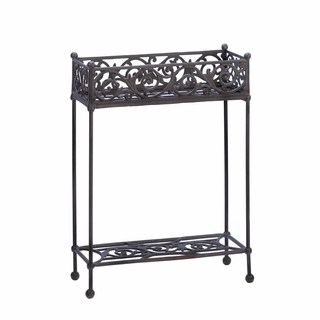 Cast Iron Plant Stand - Two-Tier