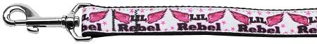 Mirage Lil' Rebel Nylon Dog Leash 6 Foot
