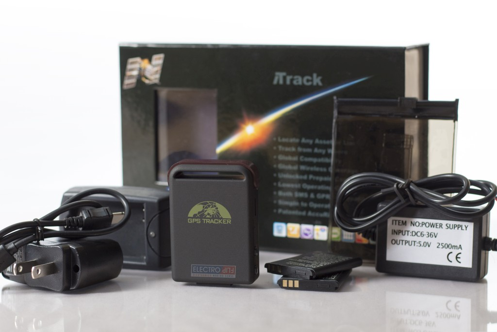 Real-Time GPS Tracker Tracking Device Spy Surveillance Cellular