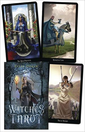 Witches Tarot Deck & Book By Ellen Dugan