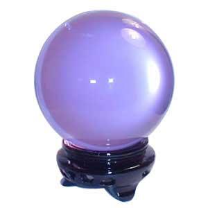 55 Mm Lavender Gazing Ball