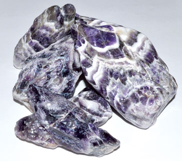 5 Kg Amethyst, Cheveron Points