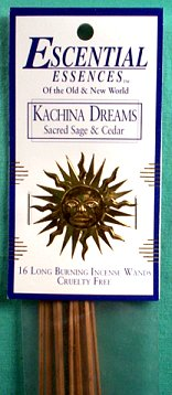Kachina Dreams Escential Essences Incense Sticks 16 Pack