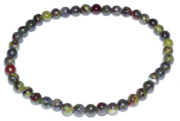 4mm Dragon's Blood Stretch Bracelet