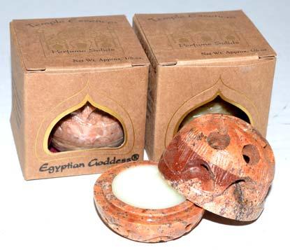 1/5oz Kashmir Rose Solid Perfume Auric Blends