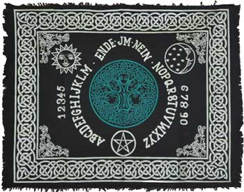 Tree Of Life Ouija-board Altar Cloth 24