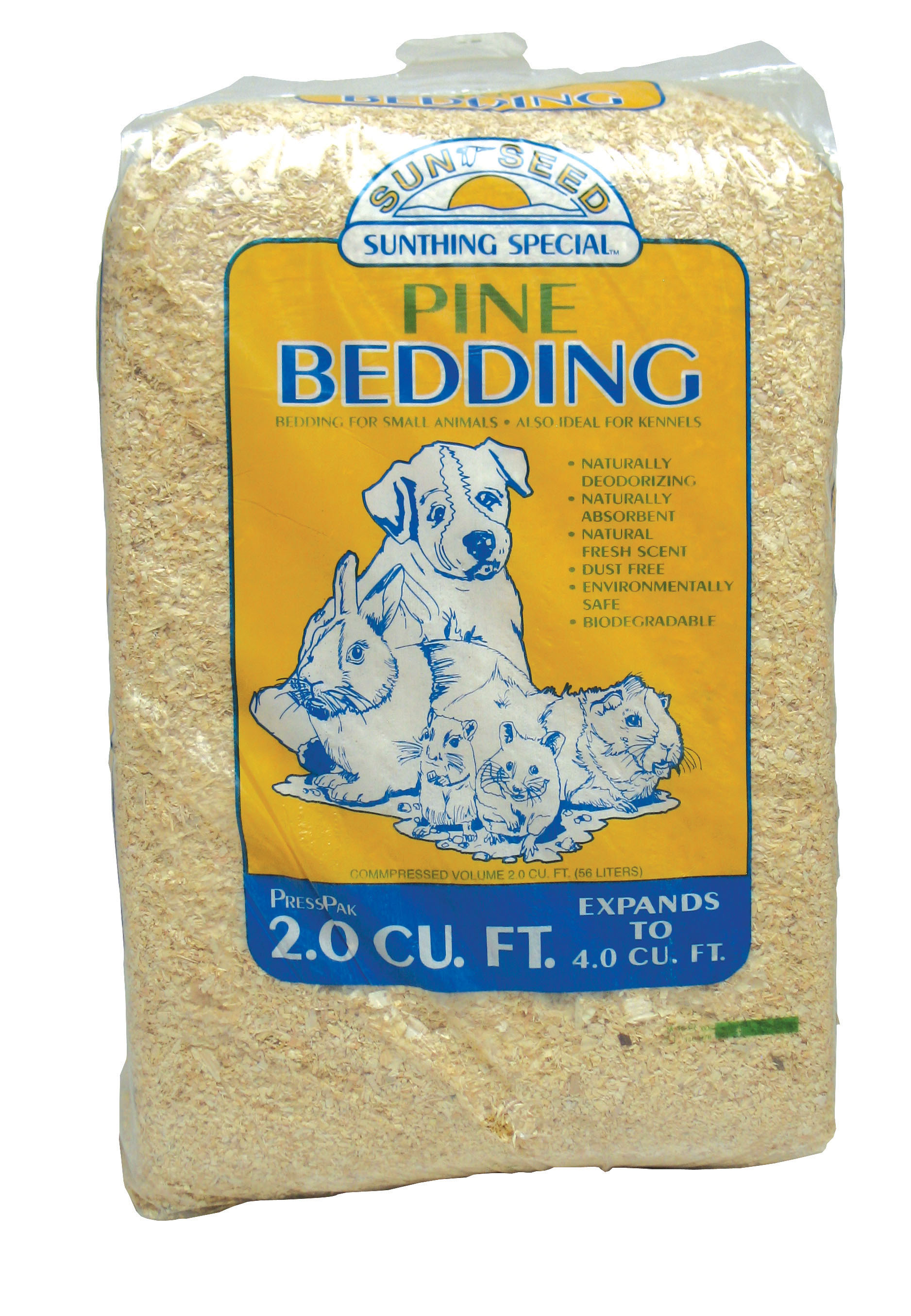 Details about Sunseed Company-Northern White Pine Bedding 4 Cf
