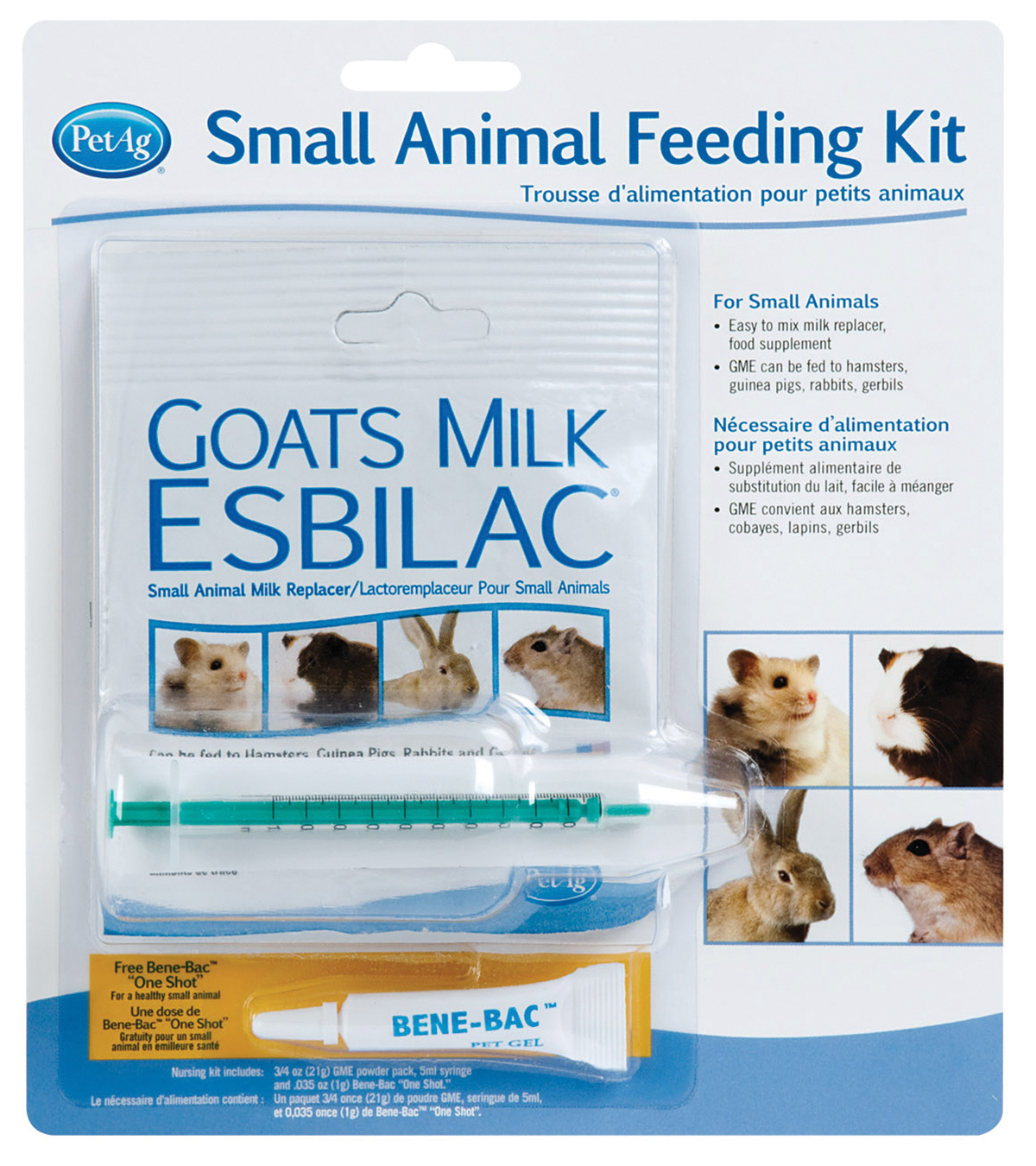 Pet Ag Inc-Goat Milk Small Animal Feed Kit Small 20279994848 | eBay