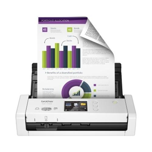 Brother International Wrlss Compact Desktop Scanner - ADS-17