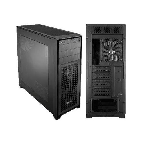 Corsair Obsidian Series 750D Airflow CC-9011078-WW Black Brushed Aluminum and St