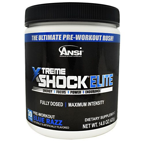 Ansi Xtreme Shock Elite Blue Razz