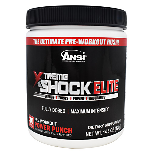 Ansi Xtreme Shock Elite Power Punch