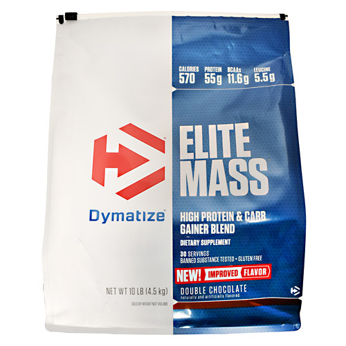 Dymatize Elite Mass Double Chocolate - Gluten Free