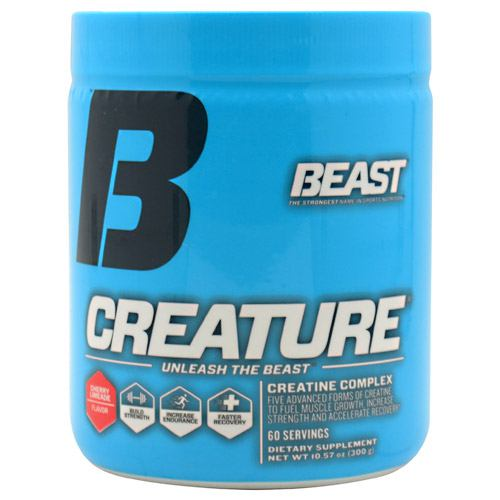 Beast Sports Nutrition Creature Cherry Limeade Flavor