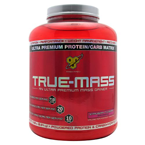 Bsn True-mass Strawberry Milkshake