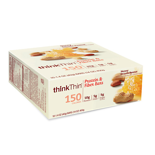 Think Products Think Thin Lean Honey Drizzle Peanut - Gluten Free