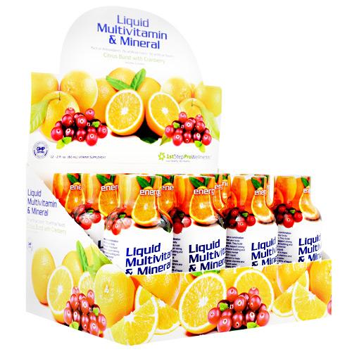 High Performance Fitness Liquid Multi-vitamin & Mineral Citrus Burst