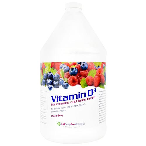 High Performance Fitness Liquid Vitamin D3 Mixed Berry