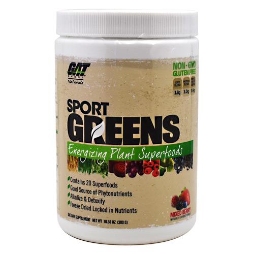 Gat Naturals Sport Greens Mixed Berry - Gluten Free