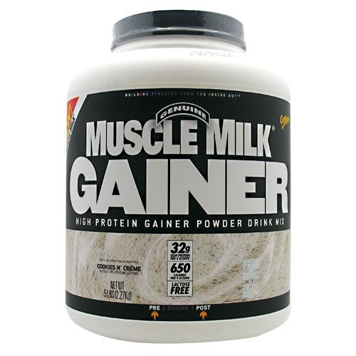Cytosport Muscle Milk Gainer Cookies N' Creme - Gluten Free