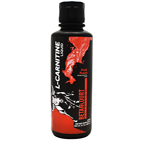 Betancourt Nutrition L-carnitine Liquid Fruit Punch