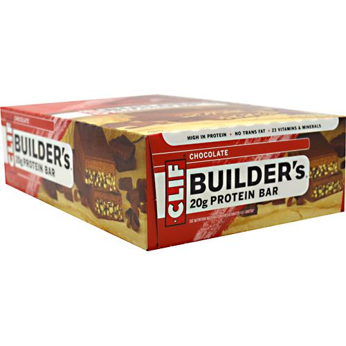 Clif Bar Builder's Cocoa Dipped Double Decker Crisp Bar Chocolate