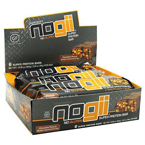 Nogii Nogii Super Protein Bar Chocolate Peanut Butter Crisp - Gluten Free