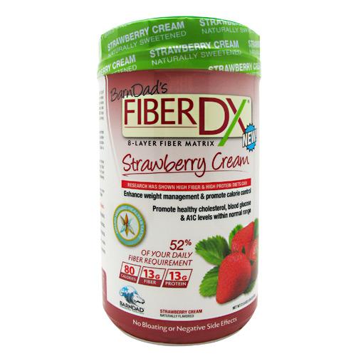 Barndad Innovative Nutrition Fiber Dx Strawberry Cream