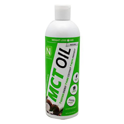 Nutrakey Mct Oil Natural - Gluten Free