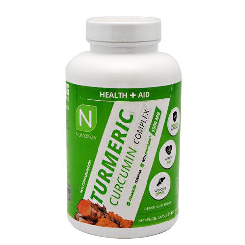 Nutrakey Turmeric Curcumin Complex - Gluten Free