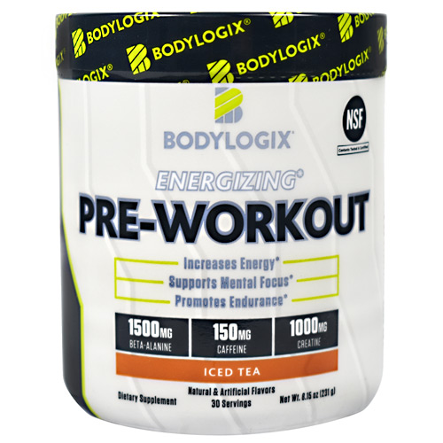 Bodylogix Energizing Pre-workout Iced Tea