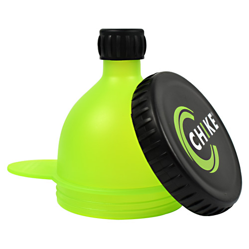 Chike Nutrition Fill-n-go Powder Funnel Green And Black