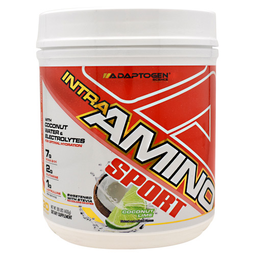 Adaptogen Science Intra-amino Sport Coconut Lime - Gluten Free