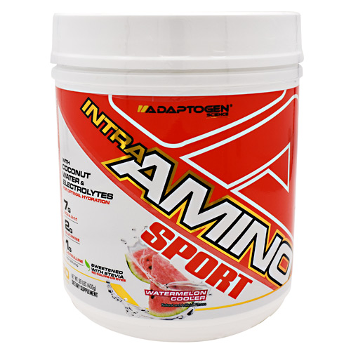 Adaptogen Science Intra-amino Sport Watermelon Cooler - Gluten Free