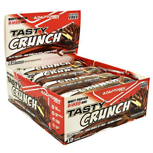 Adaptogen Science Tasty Crunch Bar Chocolate Chip Cookie Dough - Gluten Free