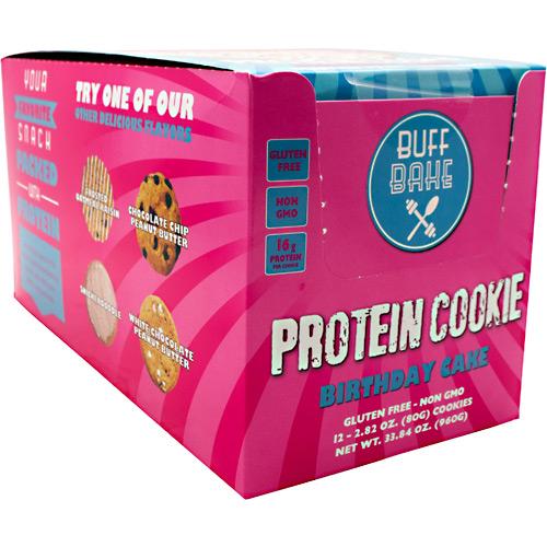 Buff Bake Protein Cookie Birthday Cake - Gluten Free