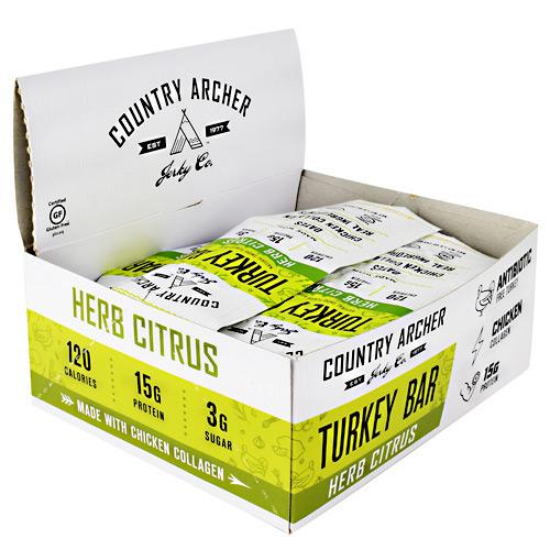 Country Archer Frontier Bar Herb Citrus - Gluten Free