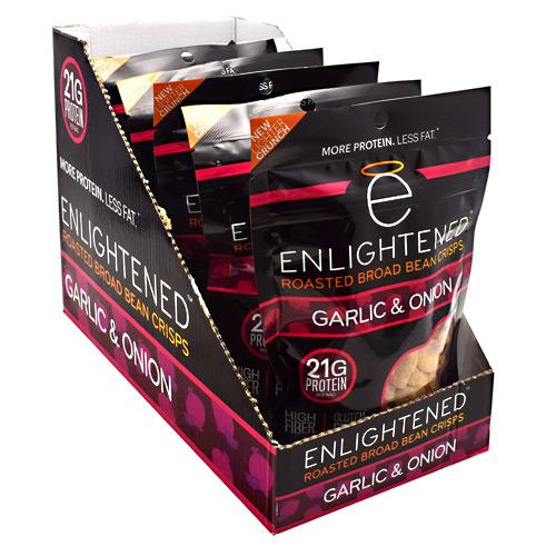 Beyond Better Foods Enlightened Enlightened Crisps Garlic & Onion - Gluten Free