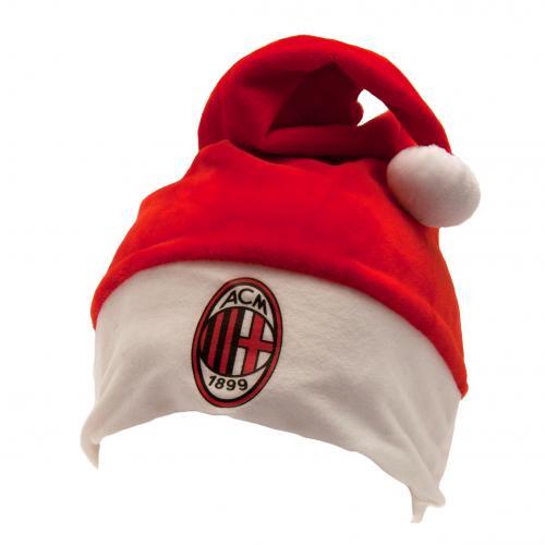Caricamento dell immagine in corso Associazione-Calcio-Milan-Supersoft-Babbo -Natale-Cappello ba5f1b26b4df