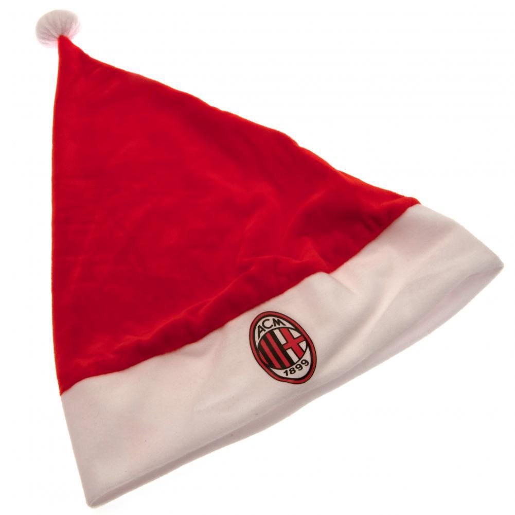 Associazione-Calcio-Milan-Supersoft-Babbo-Natale-Cappello e45e2eaccfb0