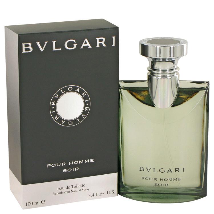 Bvlgari Pour Homme Soir By Bvlgari Eau De Toilette Spray 34 Oz For