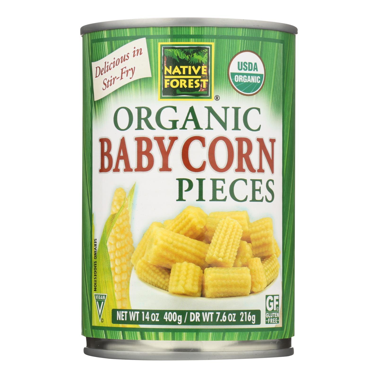 Native Forest Organic Cut Baby - Corn - Case Of 6 - 14 Oz.