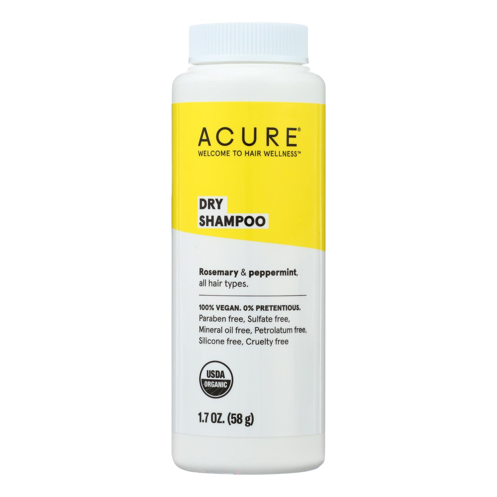 Acure - Shampoo - Dry - 1.7 Oz 854049002323