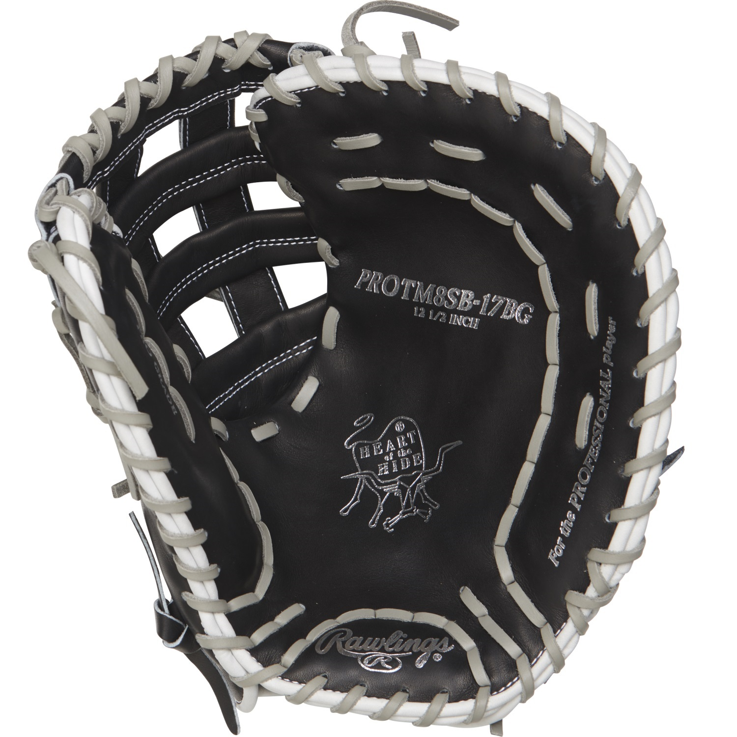 Details about Rawlings Heart of the Hide 12 5in Softball FB Mitt RH-Black