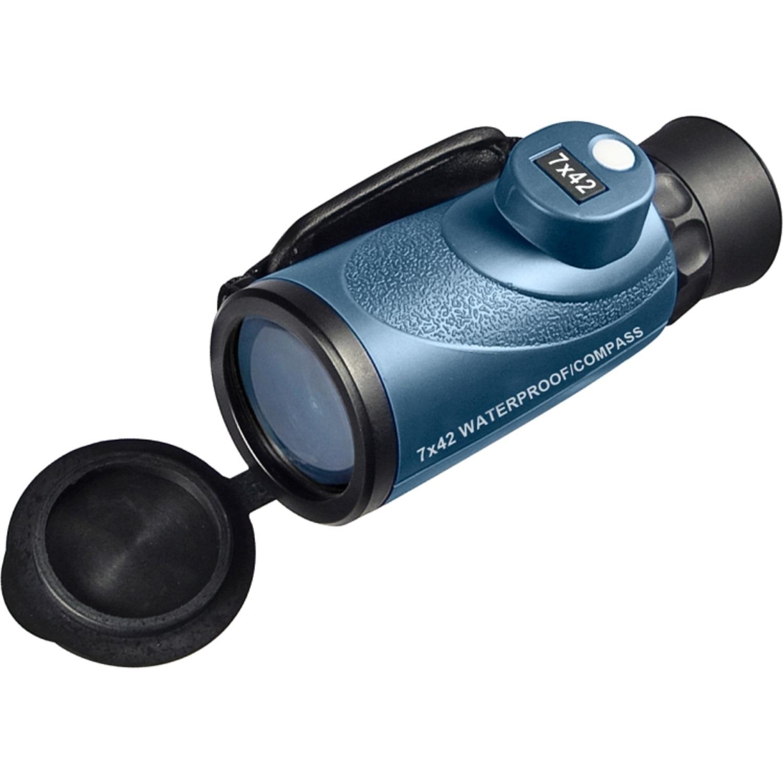 Barska 7x42mm WP Deep Sea Range Finding Reticle Compass Monocular ...