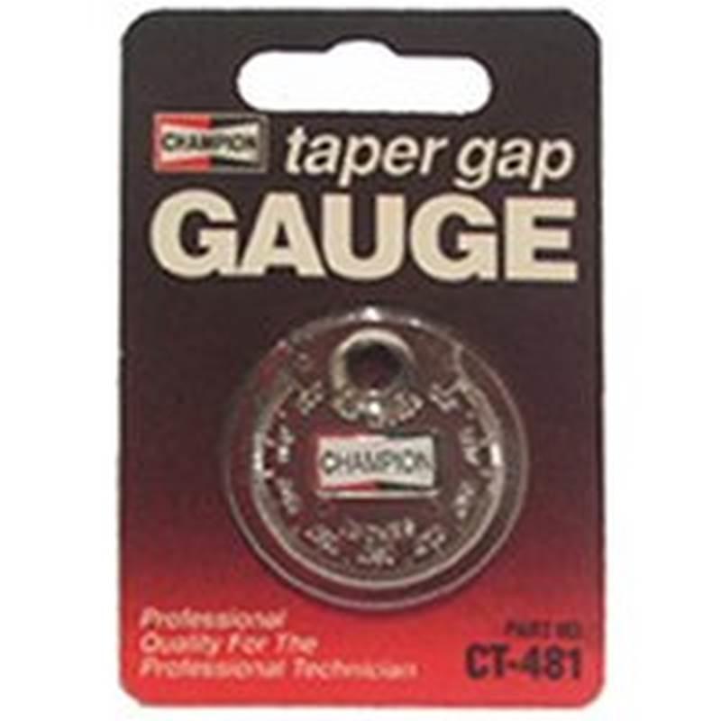 Champion CT-481 Dollar Taper Gap Gauge 0.02 - 7/64 in